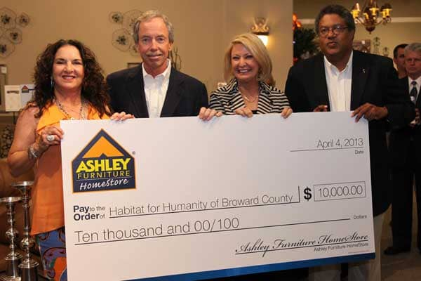 City Furniture Opens Newest Ashley Furniture HomeStore.