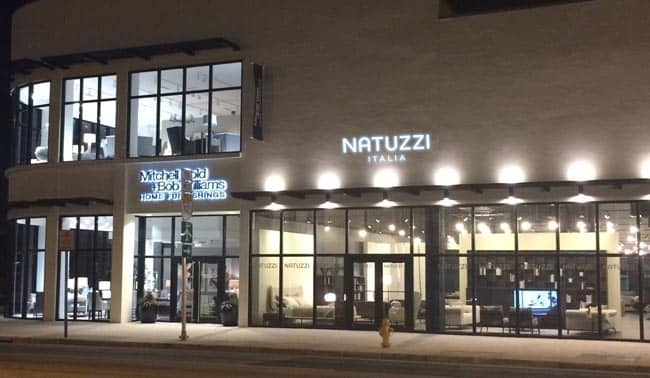 The Fifth Natuzzi Italia Opened In South Florida Miami Design District On February 12 2017 At 3818 N Ave Amid Grand Opening