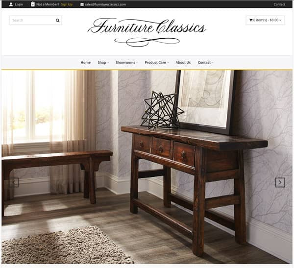 Merveilleux Furniture Classics Ltd., A Specialist In The Accent Furniture Industry,  Announced The Launch Of Its New Website, Www.furnitureclassics.com.