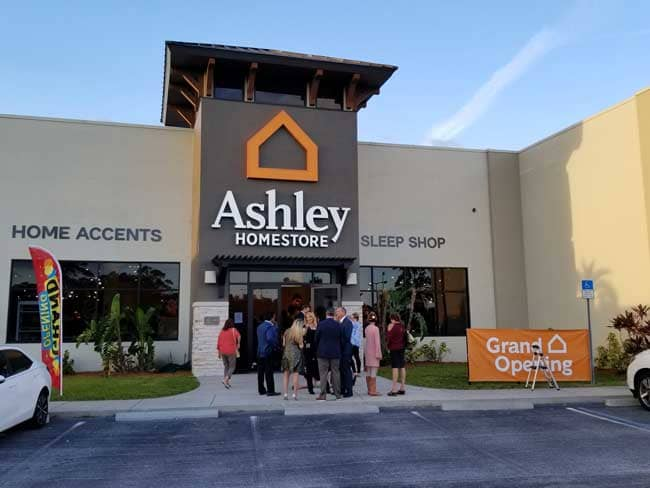 Ashley Furniture Home Opens New In Port Charlotte Florida