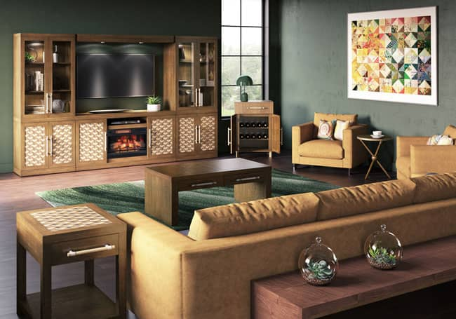 Trompe L Oeil Collection, Custom Furniture World