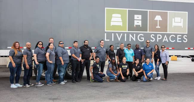 Living Spaces Helps Veterans By Donating Over 200 Mattresses Furniture World Magazine
