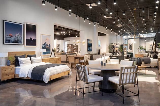 Four Hands Flagship Showroom In Austin, Is Four Hands Furniture Good Quality
